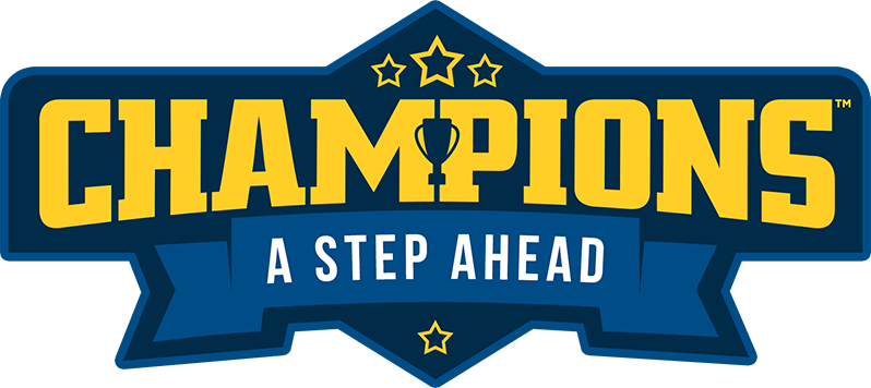 A Step Ahead: Champions